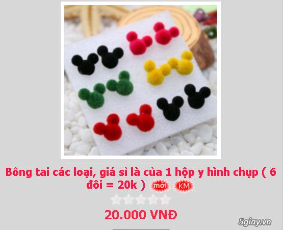 Zalo 0981662025. Bông tai giá sỉ chỉ từ 3k,4k/đôi tùy loại.Website bansisaigon.com - 11
