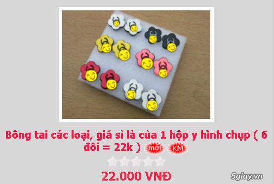 Zalo 0981662025. Bông tai giá sỉ chỉ từ 3k,4k/đôi tùy loại.Website bansisaigon.com - 8