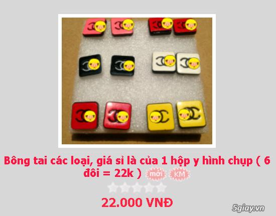 Zalo 0981662025. Bông tai giá sỉ chỉ từ 3k,4k/đôi tùy loại.Website bansisaigon.com - 4