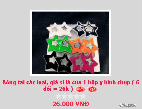 Zalo 0981662025. Bông tai giá sỉ chỉ từ 3k,4k/đôi tùy loại.Website bansisaigon.com - 5