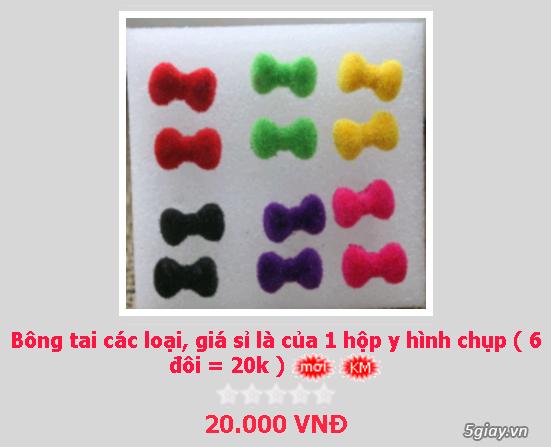 Zalo 0981662025. Bông tai giá sỉ chỉ từ 3k,4k/đôi tùy loại.Website bansisaigon.com - 13