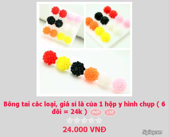 Zalo 0981662025. Bông tai giá sỉ chỉ từ 3k,4k/đôi tùy loại.Website bansisaigon.com - 16