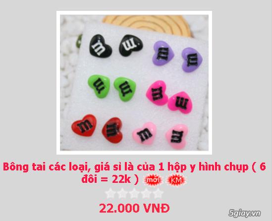 Zalo 0981662025. Bông tai giá sỉ chỉ từ 3k,4k/đôi tùy loại.Website bansisaigon.com - 2