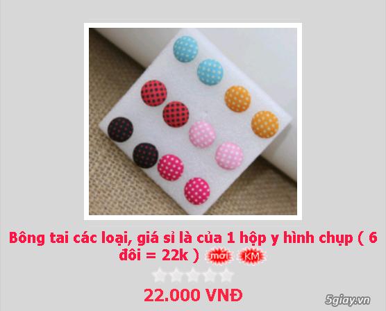 Zalo 0981662025. Bông tai giá sỉ chỉ từ 3k,4k/đôi tùy loại.Website bansisaigon.com - 26