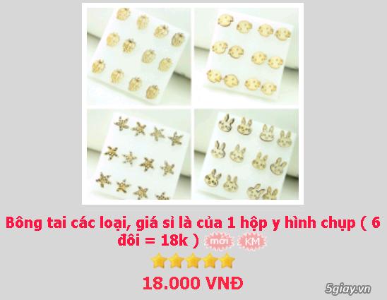 Zalo 0981662025. Bông tai giá sỉ chỉ từ 3k,4k/đôi tùy loại.Website bansisaigon.com - 21