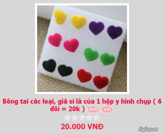 Zalo 0981662025. Bông tai giá sỉ chỉ từ 3k,4k/đôi tùy loại.Website bansisaigon.com - 10