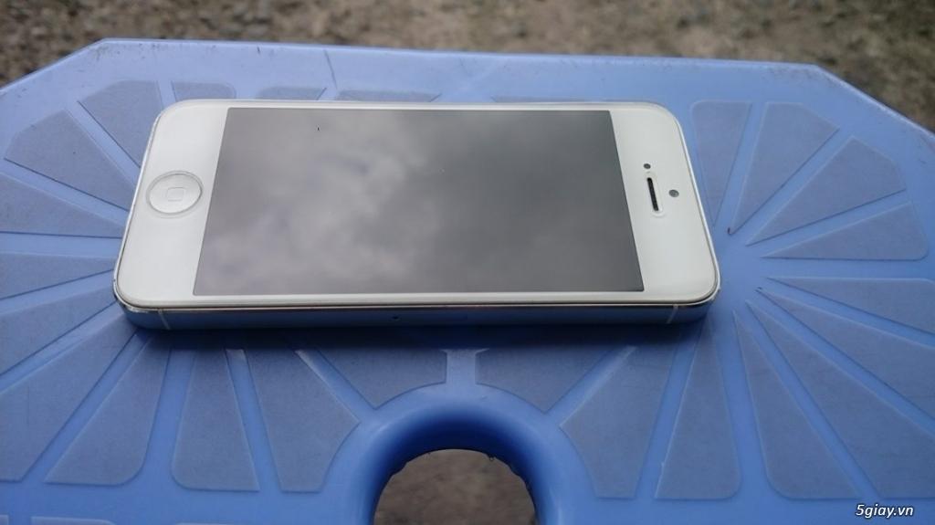 Iphone 5 quốc tế, 32gb, đã qua sử dụng, máy zin 98%