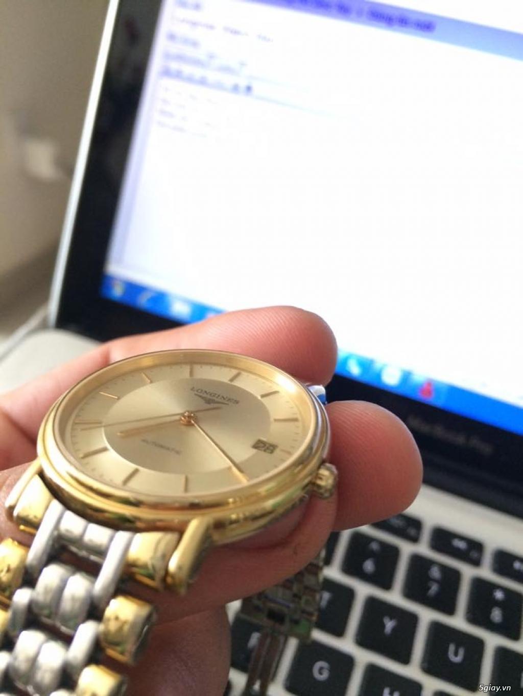 Đồng hồ Longines chính hãng Gold size 17 tay nhỏ, vừa. - 3