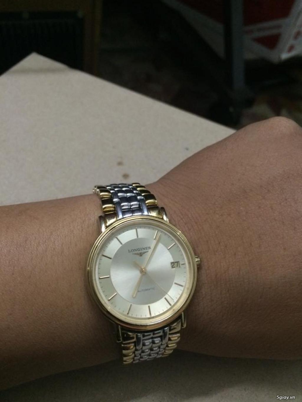 Đồng hồ Longines chính hãng Gold size 17 tay nhỏ, vừa.