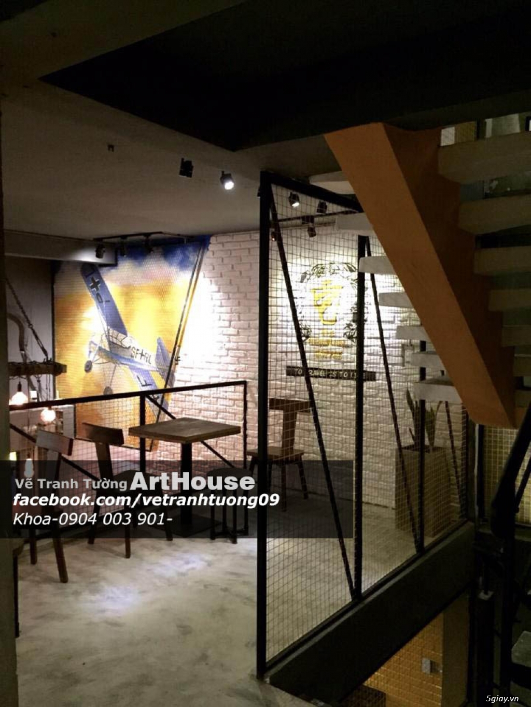 Dịch Vụ Decor Vẽ Tranh Tường ArtHouse - 2