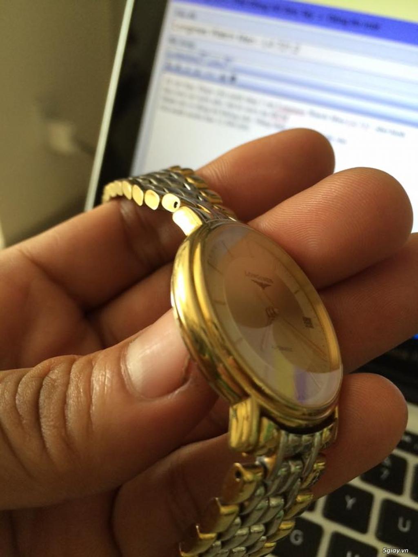 Đồng hồ Longines chính hãng Gold size 17 tay nhỏ, vừa. - 4