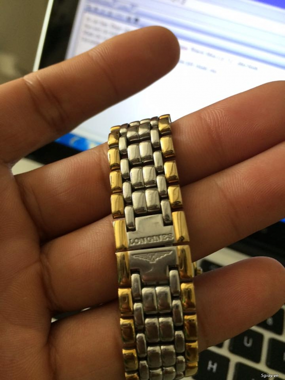 Đồng hồ Longines chính hãng Gold size 17 tay nhỏ, vừa. - 7