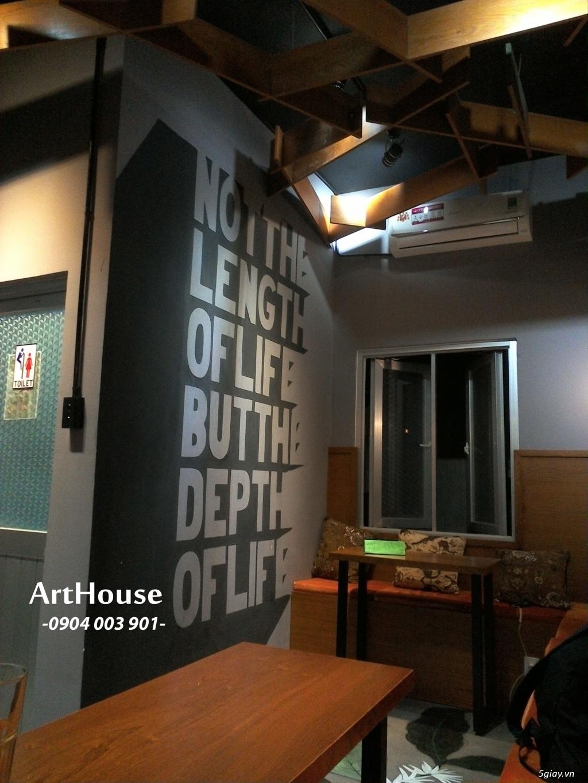 Dịch Vụ Decor Vẽ Tranh Tường ArtHouse - 4