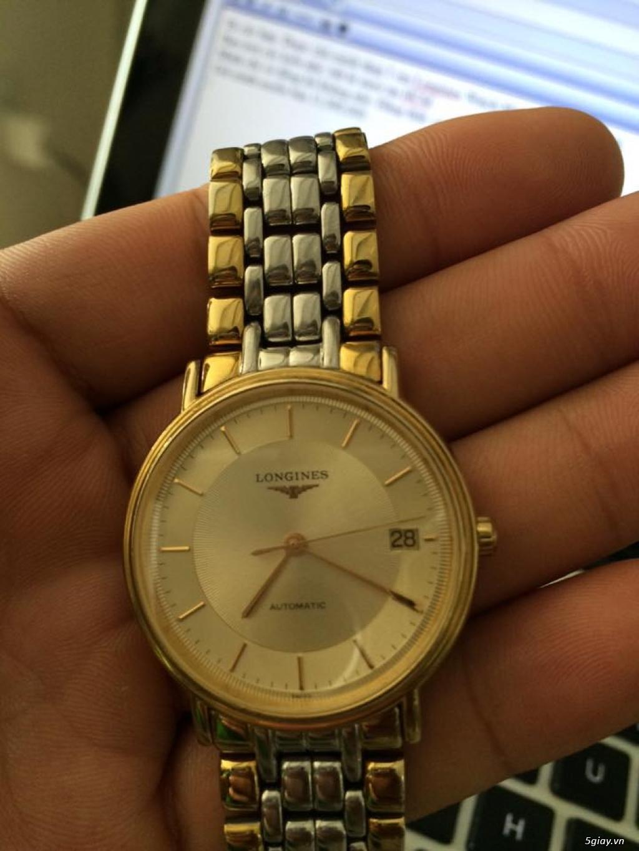 Đồng hồ Longines chính hãng Gold size 17 tay nhỏ, vừa. - 6