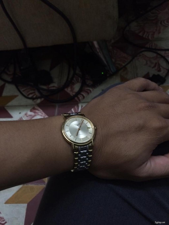 Đồng hồ Longines chính hãng Gold size 17 tay nhỏ, vừa. - 5