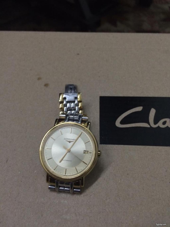 Đồng hồ Longines chính hãng Gold size 17 tay nhỏ, vừa. - 1