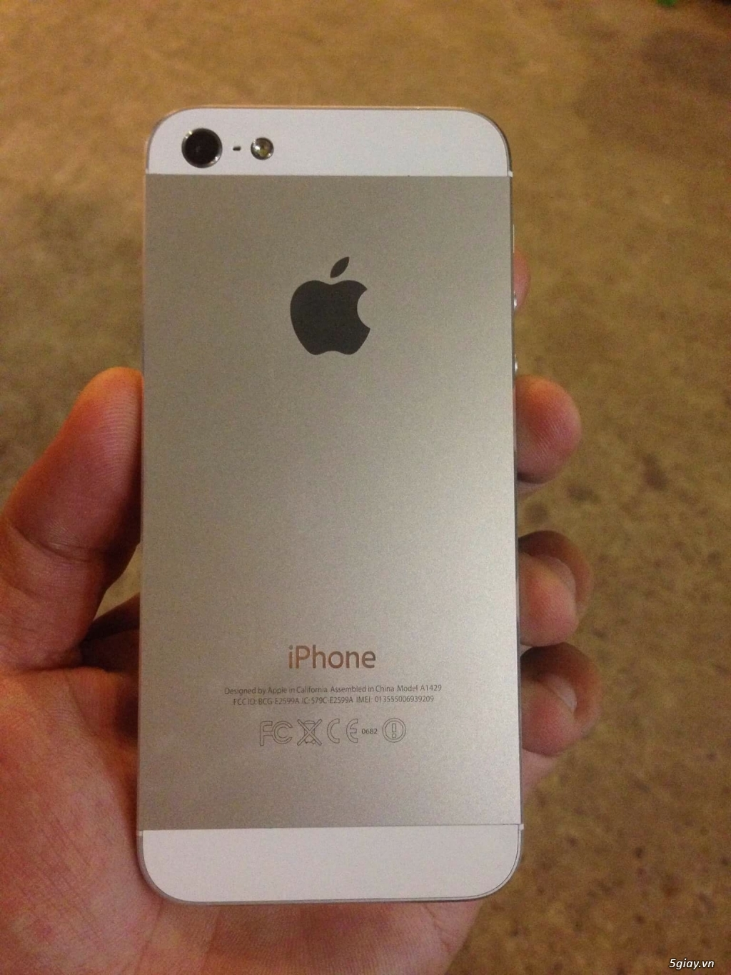 Iphone 5 32gb trắng Cty - 3
