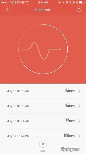 Hướng dẫn sử dụng Xiaomi miband 2 - 5