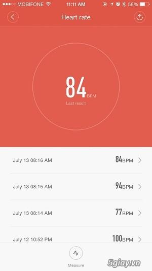 Hướng dẫn sử dụng Xiaomi miband 2 - 6