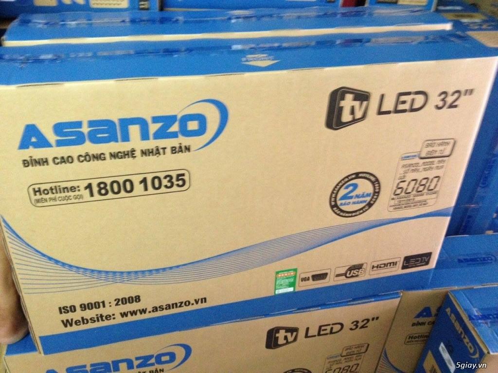 Tivi LED Asanzo 32inch HD Model 32S500, chính hãng, mới 100, GIÁ 2TR800, bảo hành 2 năm. - 1