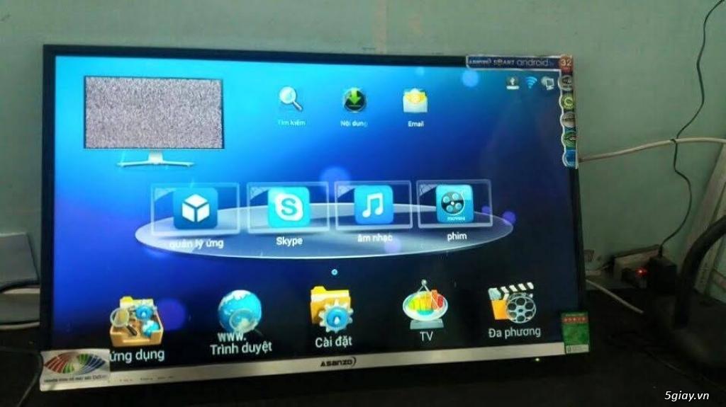 Tivi LED Asanzo 32inch HD Model 32S500, chính hãng, mới 100, GIÁ 2TR800, bảo hành 2 năm.