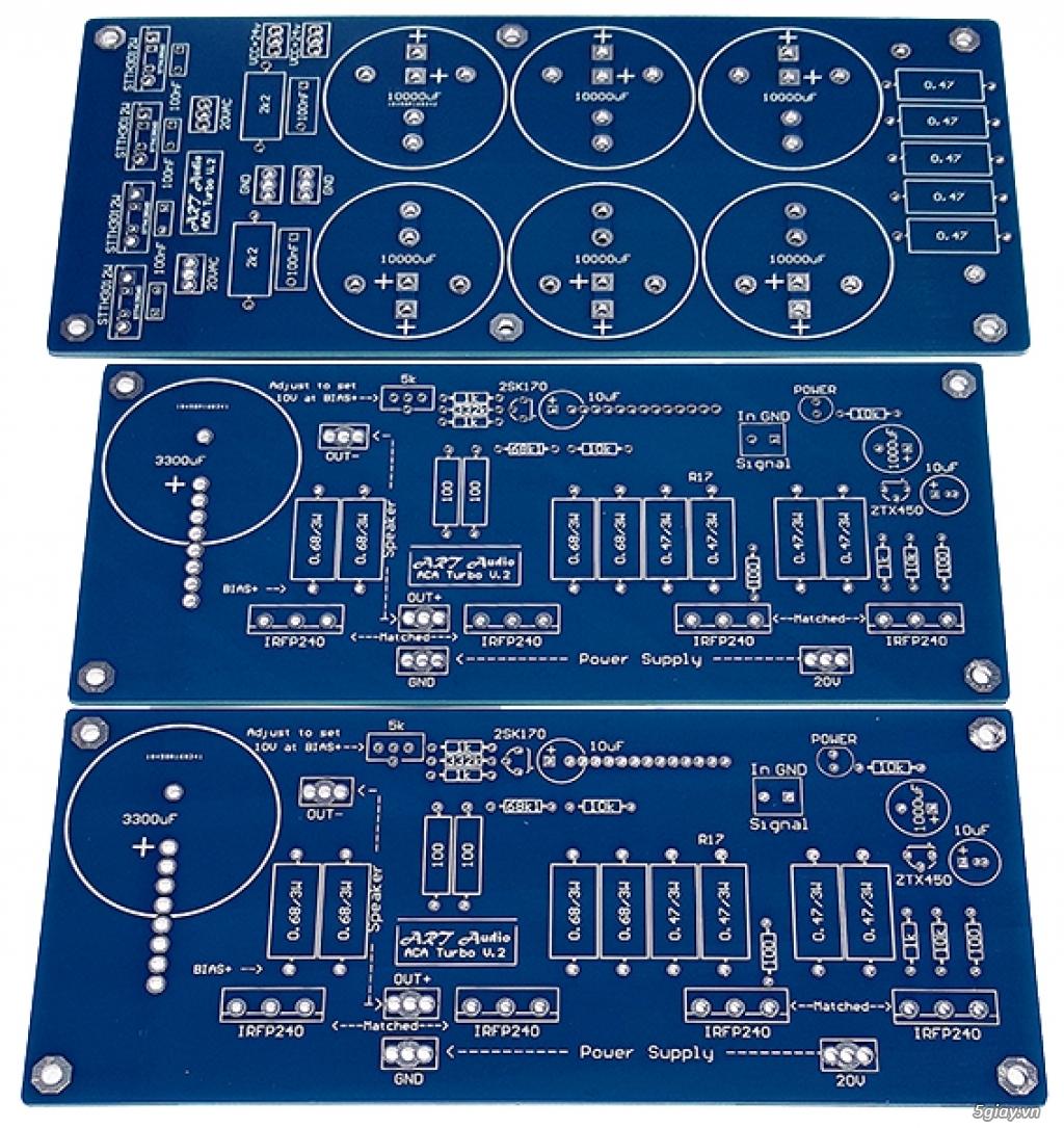 Linh kiện điện tử, PCB và DIY kit cho High-end Audio . ART Audio - 3