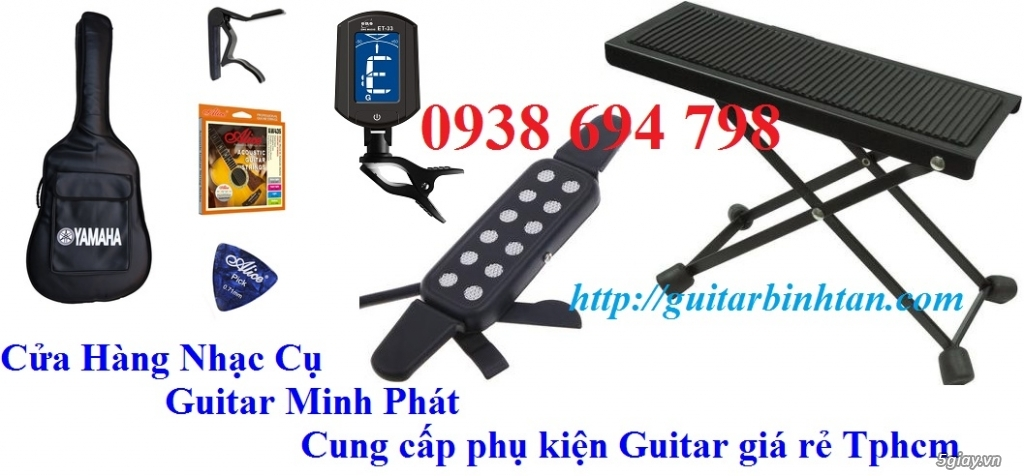 Phụ kiện guitar giá rẻ quận bình tân tphcm