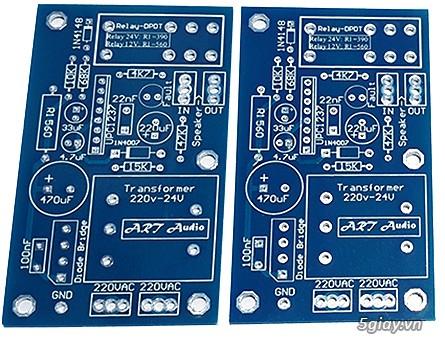 Linh kiện điện tử, PCB và DIY kit cho High-end Audio . ART Audio - 27