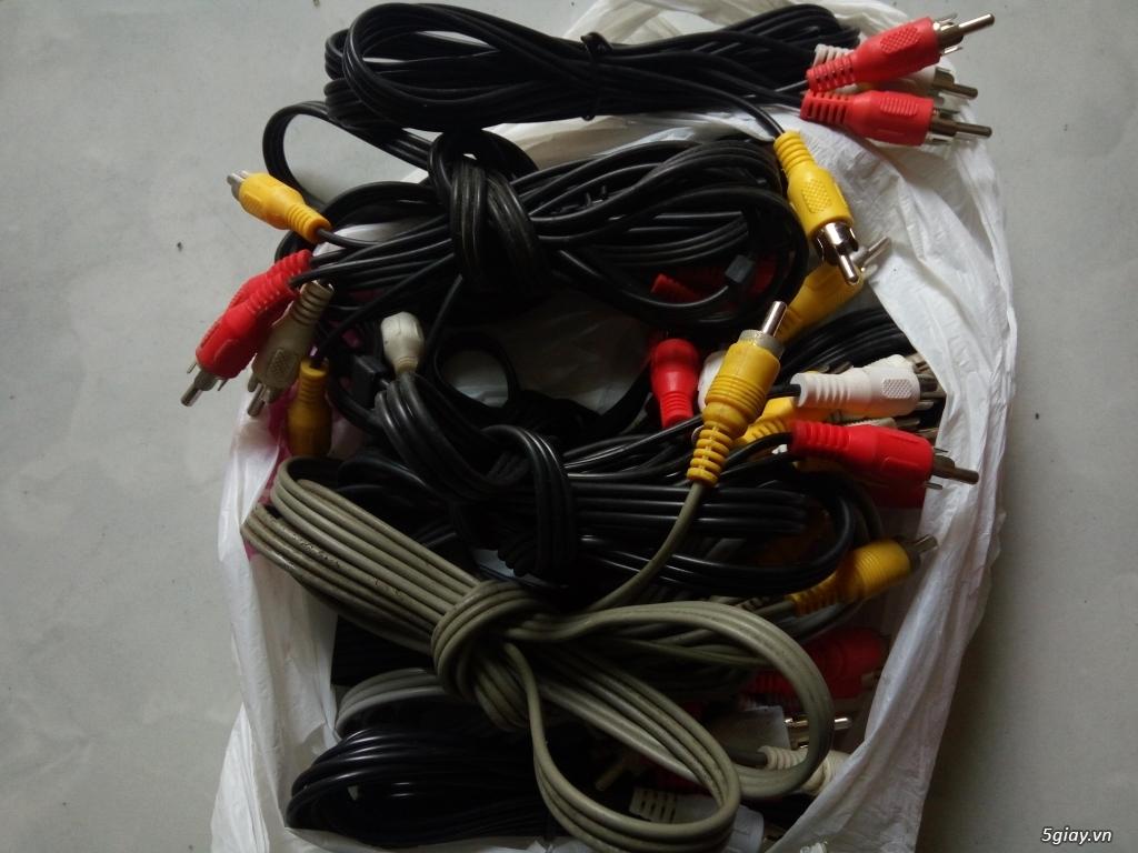 Thanh lý cable HDMI, AV, dây lan ...... - 2