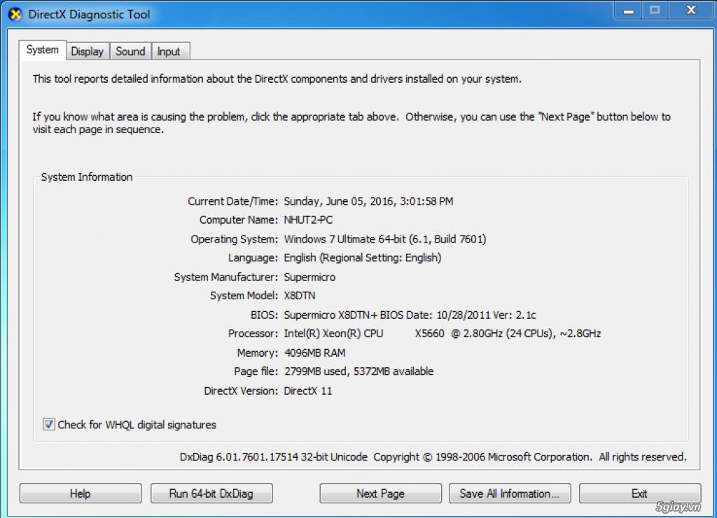 Bán 2 thùng pc DUAL X5660 or đổi laptop HP 8560w  vv | 5giay