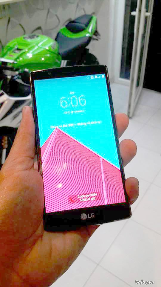 LG G4 32GB 1sim nắp da likenew - 1