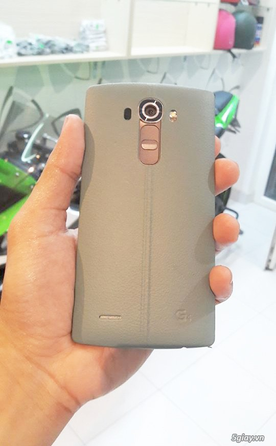 LG G4 32GB 1sim nắp da likenew - 3