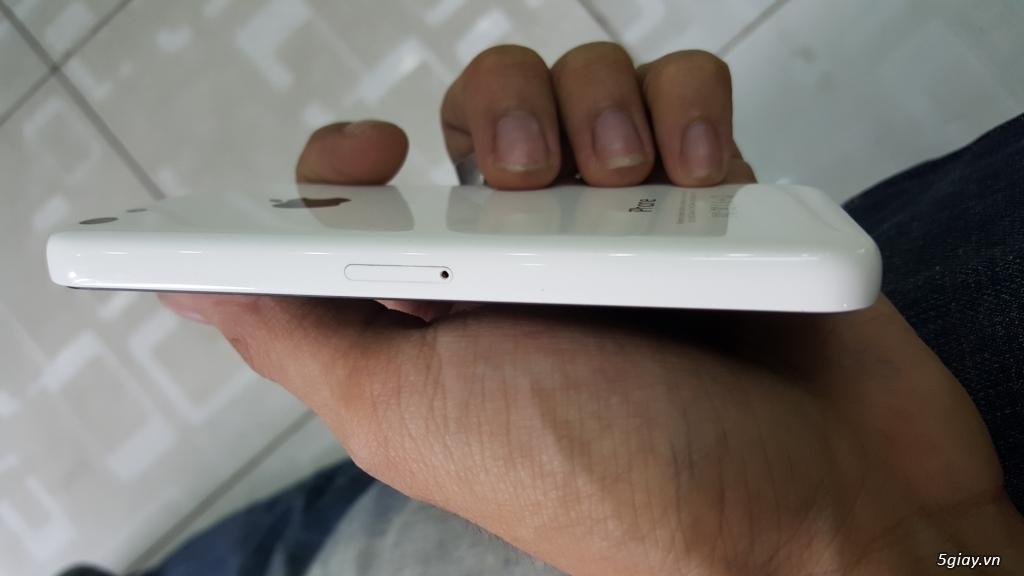 iPhone 5c lock nhật 16gb luôn sim ghépghép - 4