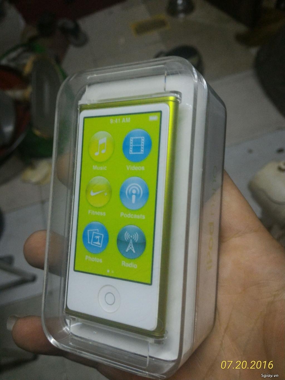 ipod nano gen 7 16gb mới 100% giá 2tr7