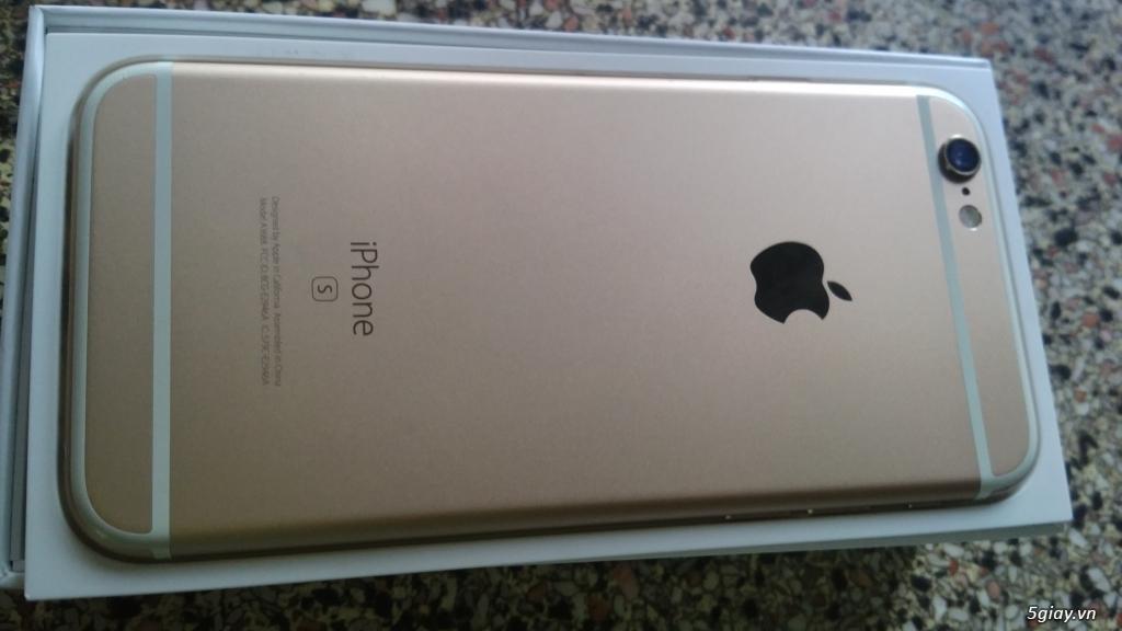 iphone 6s 16gb vàng gold còn bảo hành 5 tháng. - 5