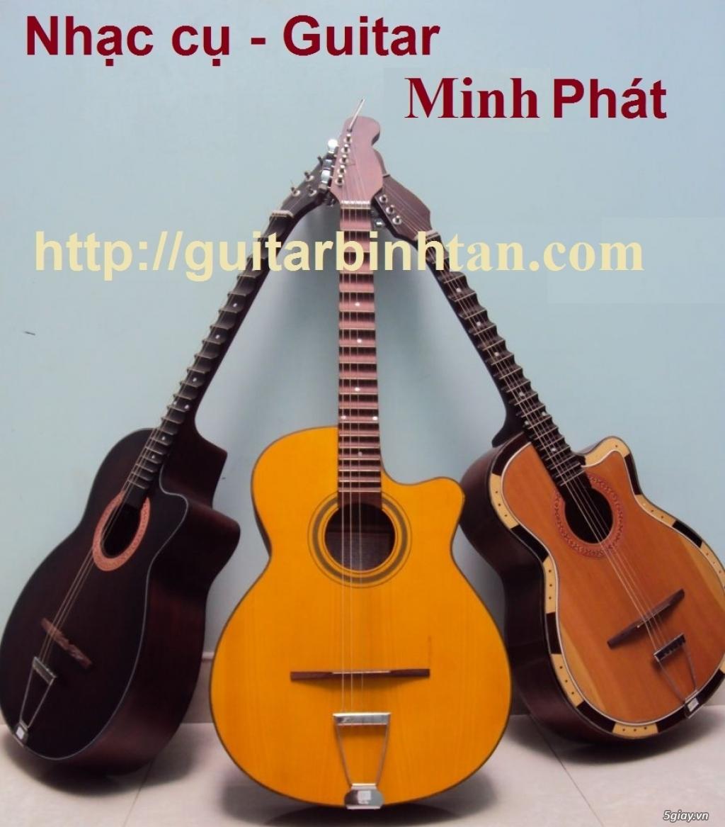 Bán đàn guitar cổ thùng guitar phím lõm giá rẻ quận bình tân - 8