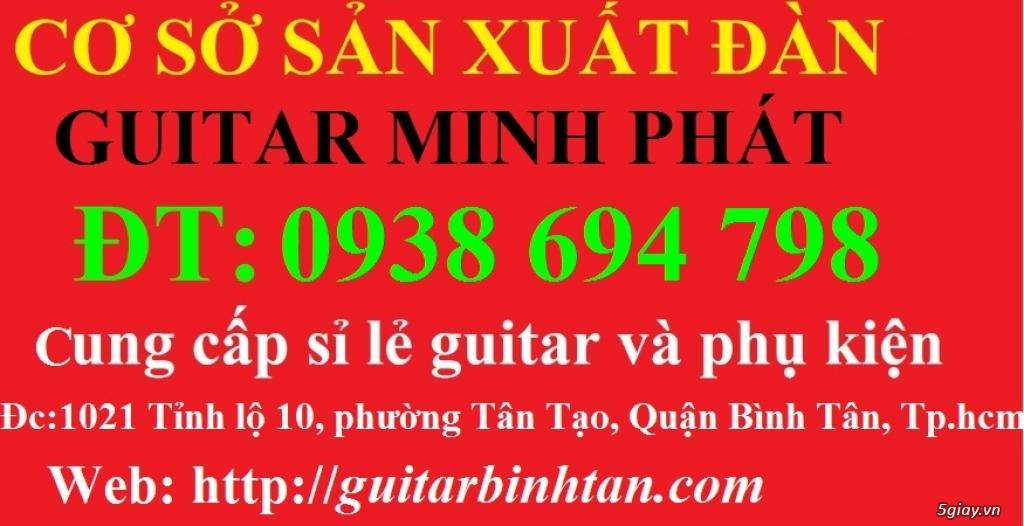 Bán đàn guitar cổ thùng guitar phím lõm giá rẻ quận bình tân - 12