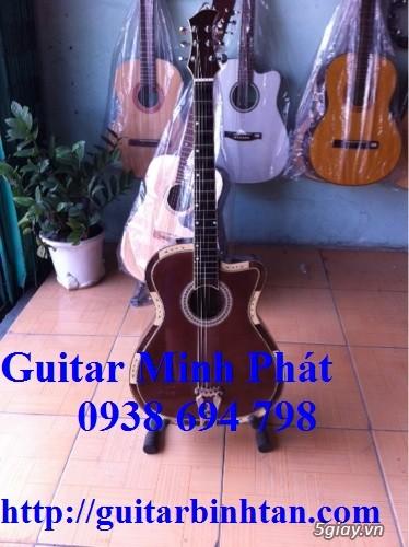Bán đàn guitar cổ thùng guitar phím lõm giá rẻ quận bình tân - 9