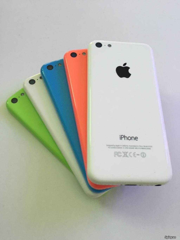 Iphone 5c zin 99% pb quốc tế , k icloud máy đẹp - 1