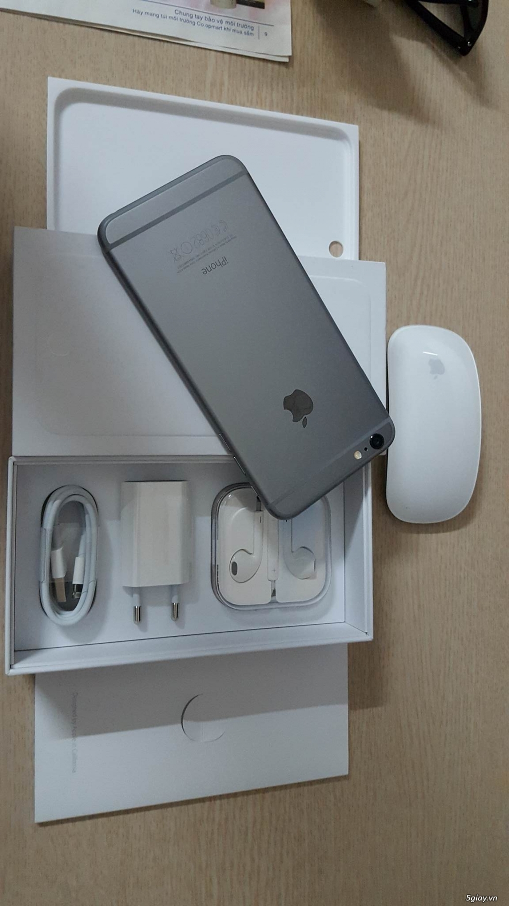 IPHONE 6PLUS 16GB GRAY QUỐC TẾ - 5
