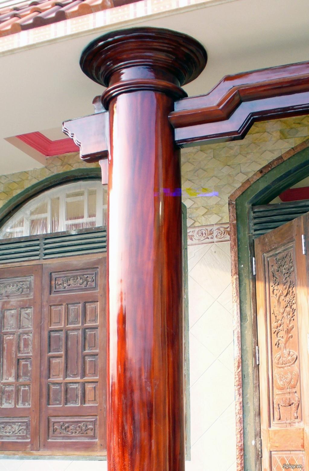 chuyên nhận vẽ các loại tranh tường,tranh đắp,phù điêu,giả đá,giả gỗ làm hòn non bộ.. - 17