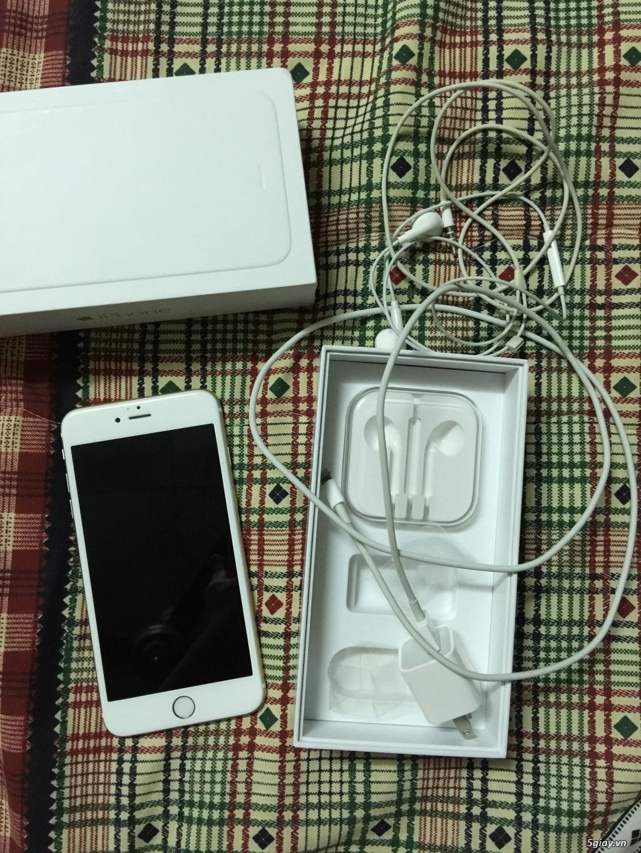 Cần bán iphone 6 Plus (GOLD) 128Gb, quốc tế, fullbox, đẹp nguyên zin - 3
