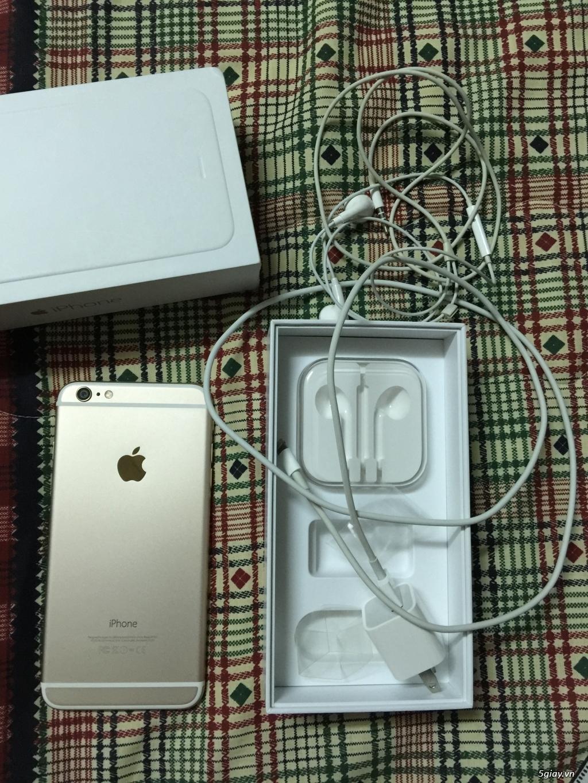 Cần bán iphone 6 Plus (GOLD) 128Gb, quốc tế, fullbox, đẹp nguyên zin - 2