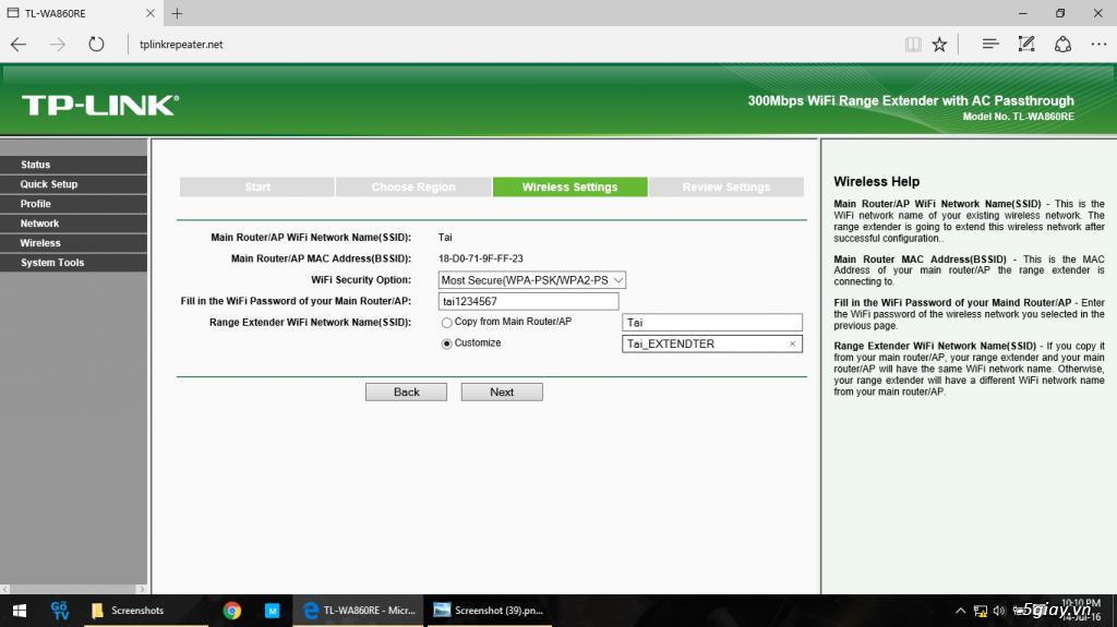 Mở hộp thiết bị mở rộng mạng WiFi TP-LINK TL-WA860RE - 133058
