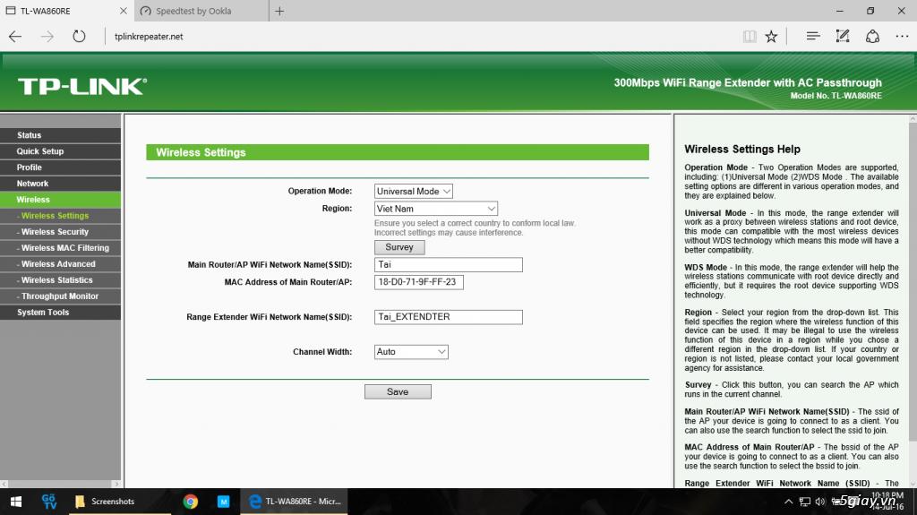 Mở hộp thiết bị mở rộng mạng WiFi TP-LINK TL-WA860RE - 133061