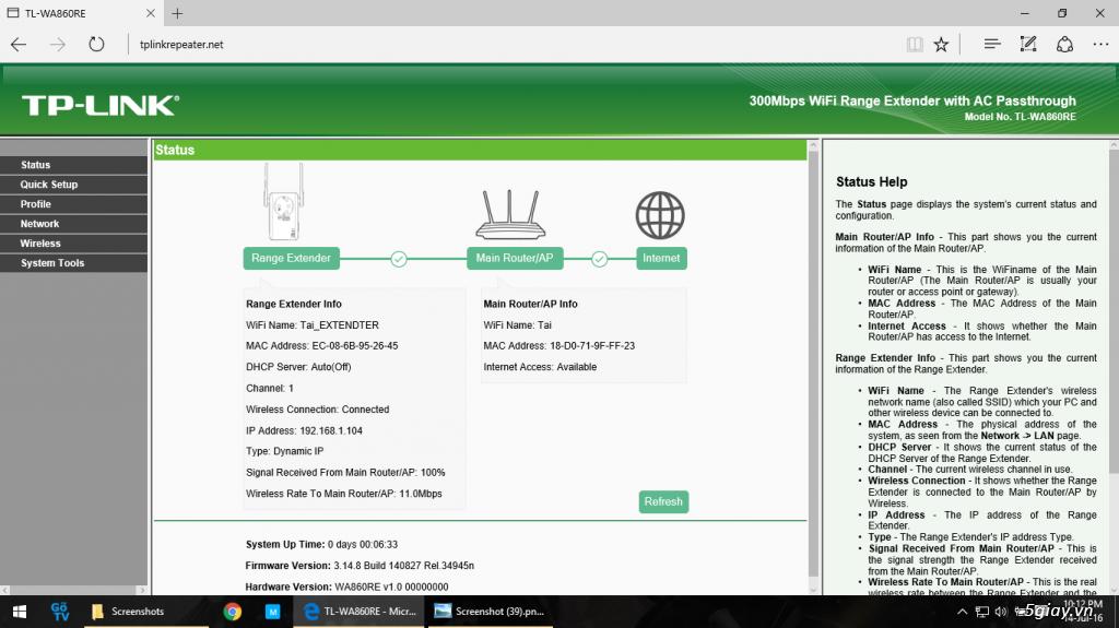 Mở hộp thiết bị mở rộng mạng WiFi TP-LINK TL-WA860RE - 133059