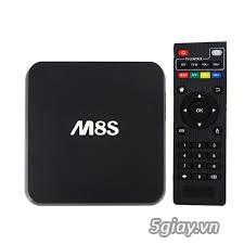 Android TV Box  M8S giá rẻ - giúp tivi kết nối internet - 1