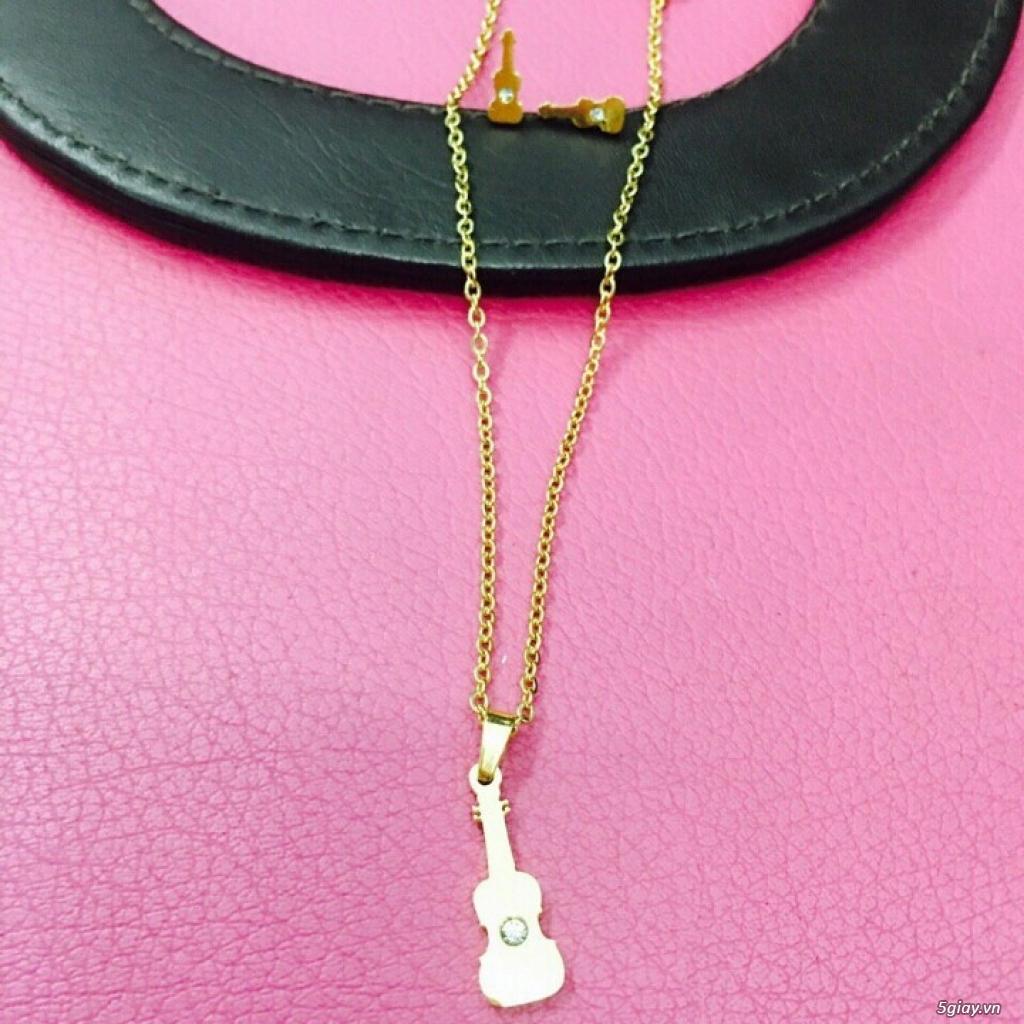 Zalo 0981662025. Bộ trang sức xi vàng 18--Giá sỉ 58k ( gồm 3 món : bông , dây & mặt). - 26