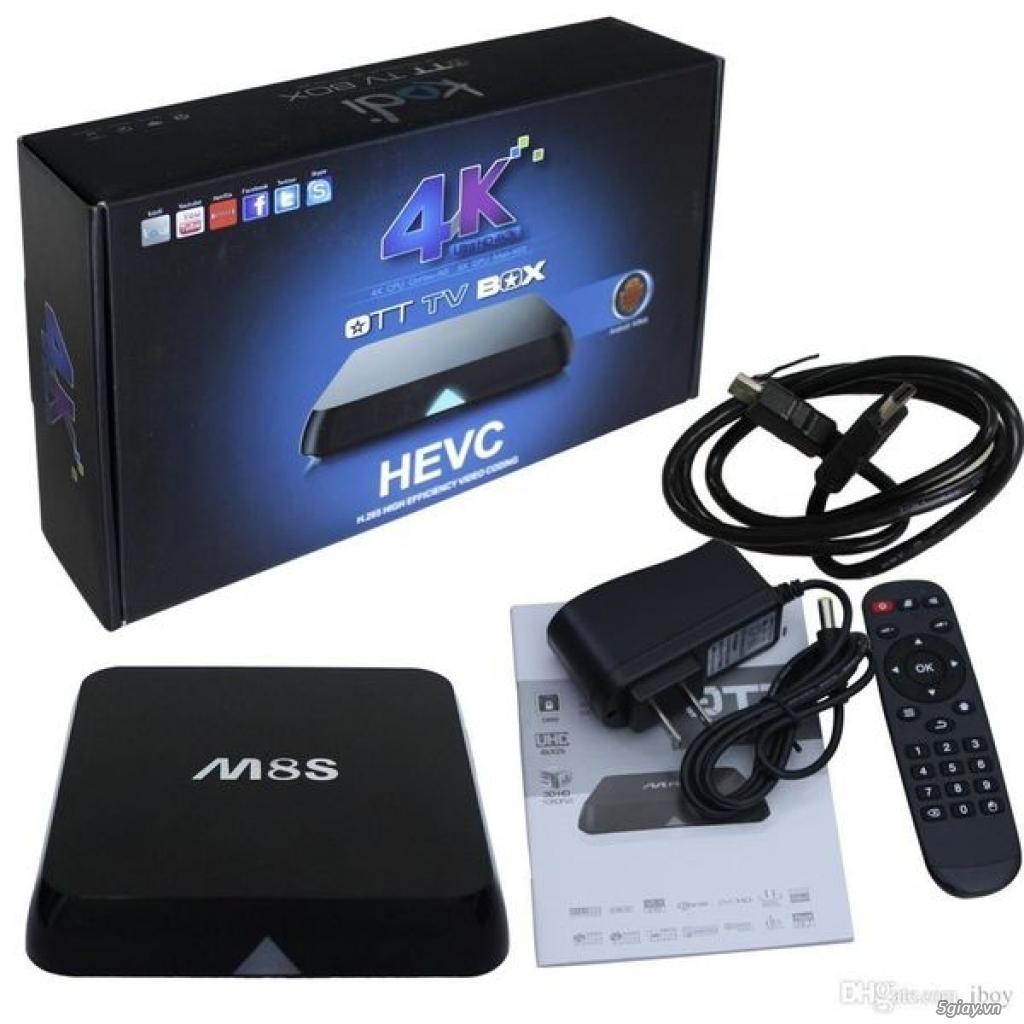 Android TV Box  M8S giá rẻ - giúp tivi kết nối internet - 2