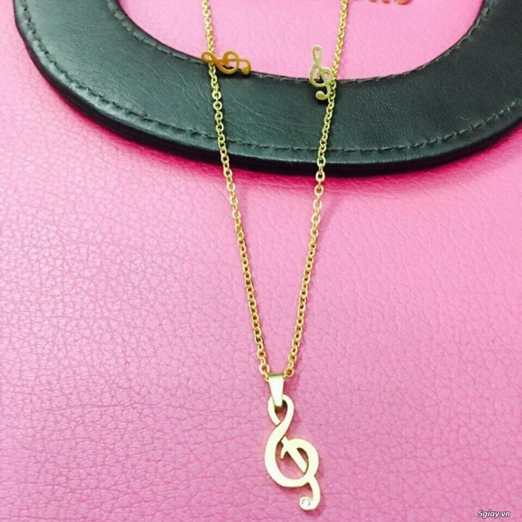 Zalo 0981662025. Bộ trang sức xi vàng 18--Giá sỉ 58k ( gồm 3 món : bông , dây & mặt). - 33